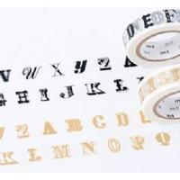 MTEX1P39 (15mm) mt ex alphabet