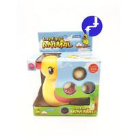 Mainan Anak Lucu Anak Ayam Kuning Keluar Telor Lay Egg Manual BT818