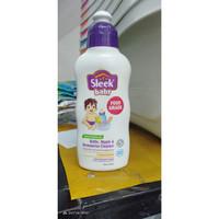 SLEEK BABY BOTTLE & NIPPLE CLEANSER BOTOL 150ML Sabun Cuci Botol Bayi
