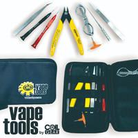 Authentic Coil Gear Diy Tools Kit Lengkap Alat Coiling Vape Vapor RDA