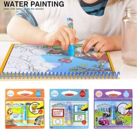 Terlaris Buku Gambar Ajaib Buku Mewarna Ajaib Magic Water Drawing