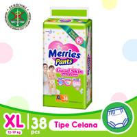Merries Pants Good Skin XL 38S - Popok Bayi/Diapers