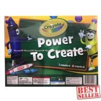 HOT SALE Crayola My Creativity Pack Crayon 8 Pcs Colored Pensil 12 Pcs