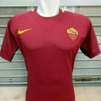 Dijua JERSEY AS ROMA HOME 2017 2018 GRADEORI Murah
