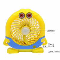Kipas angin led sx-F98 lithium electric fan with lamp ac dc minion