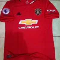 Jersey Manchester United Home 2019/2020 FULLPATCH EPL Gradeori officia