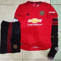 Jersey 1 set Manchester United Home 2019/2020 grade ori official