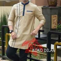 Harga baju koko dilan coksu fashion pria atasan gamis atasan | antitipu.com