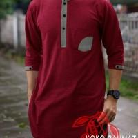 Harga baju koko rahmat marun fashion pria atasan gamis atasan | antitipu.com