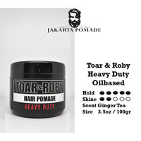 Pomade Toar and Roby Heavy Duty 3.5 oz Free sisir