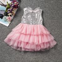 DRESS BLINKY ANAK BAYI / RUFFLE DRESS - PINK