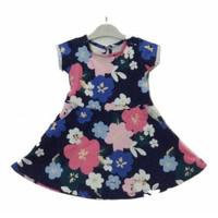 DRESS ANAK MOTIF BUNGA LUCU / DRESS FULL FLOWER