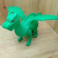 Mainan Naga Dragon Tarik Berjalan Kring Kring
