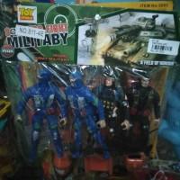 Mainan Tentara Perang Militer Isi 4-pcs