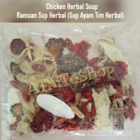 Chicken Herbal Soup, Ramuan Herbal Sop Ayam untuk daya tahan tubuh