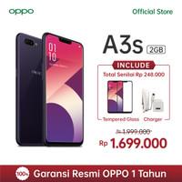 OPPO A3s Smartphone AI Beauty 2.0 Camera 2GB/16GB Purple