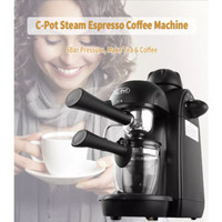 Mesin Kopi C-POT Coffee Maker 800W Home Espresso Cappucino
