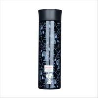 Lock & Lock Snoopy Vacuum Tumbler Termos Air Black 400ml LSP355