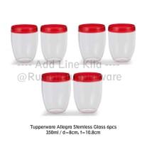 Tupperware Allegra Stemless Glass (6pcs) (Activity)