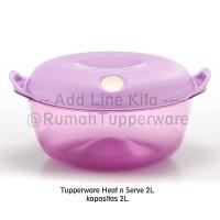 Tupperware Heat N Serve 2L (1pc) - Activity SFA bisa microwave