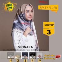 Jilbab Segiempat Vionara Motif 3 By Azzura Scarf- Kerudung Hijab Murah