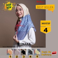 Jilbab Segiempat Vionara Motif 4 By Azzura Scarf- Kerudung Hijab Murah