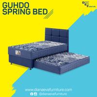 Kasur 2in1 Standard Headboard Caserta Set - Guhdo Spring Bed