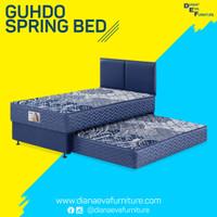 Kasur 2in1 Standard Headboard Atlantic Set - Guhdo Spring Bed