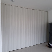 Folding Door Pvc Berkualitas Pintu Lipat PVC / Folding Door/