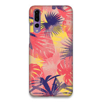 Indocustomcase Forest Flower Hard Case Cover For Huawei P20 Pro
