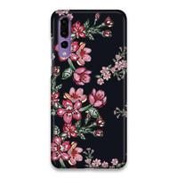 Indocustomcase Flower Hana Hard Case Cover For Huawei P20 Pro