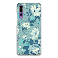 Indocustomcase Flower Julia 2 Hard Case Cover For Huawei P20 Pro