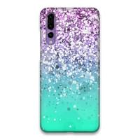 Indocustomcase Glitter Gardita Hard Case Cover For Huawei P20 Pro