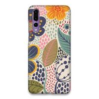 Indocustomcase FLower Secret Garden Hard Case Cover For Huawei P20 Pro
