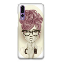 Indocustomcase Giulio Rossi Hard Case Cover For Huawei P20 Pro
