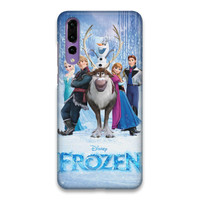 Indocustomcase Frozen Hard Case Cover For Huawei P20 Pro