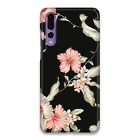 Indocustomcase FLower III Hard Case Cover For Huawei P20 Pro
