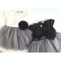 Littleerin Baju Bayi Perempuan Dress Gaun Pesta Bayi