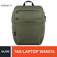 Exsport Delroy Laptop Backpack - Olive