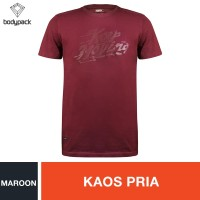 Bodypack Keep moving T-shirt - Maroon