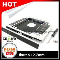 SSD HDD Caddy Slim 12.7mm SATA DVD Slot Hardisk Drive