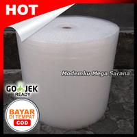 Plastik Bubble Wrap Tebal 1 roll 100 meter - Lebar 62cm - Sleman Jogja