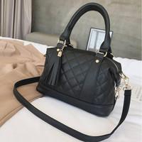 tas hitam 87750 selempang jinjing kerja meeting wanita impor fashion