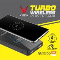 VYATTA TURBO FAST WIRELESS Power Bank - 10W Wireless , QC3.0 & PD