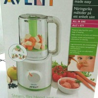 Preloved Philips Avent 2 in 1 baby food blender and steamer