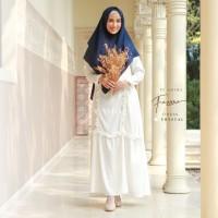 AMIMA FAZZURA DRESS CRYSTAL GAMIS ONLY POLOS katun medina madina