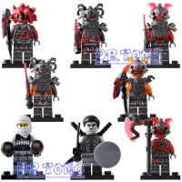 NinjaGo The Movie Minifigure lego Ninja Go Spinjitzu 8055
