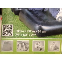 Bestway 5 in 1 Sofa Bed Kasur Ranjang Angin Tiup Free Pompa Listrik