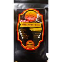 ROAST BEANS LUWAK COFFEE KINTAMANI HIGH QUALITY 200GR - SARIBAGUS