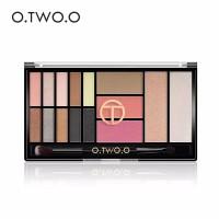 O.TWO.O Palet Eyeshadow 15 Warna Glitter